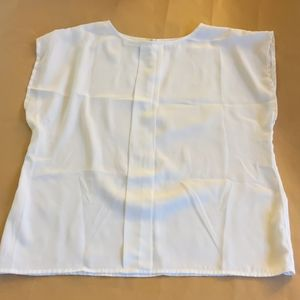 Semi Sheer Vintage White Blouse (S/M)